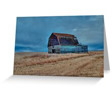 Unkind Winds  Greeting Card
