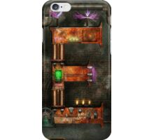 Steampunk - Alphabet - E is for Electricty iPhone Case/Skin