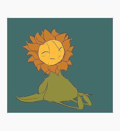The Happy Sunflower Photographic Print