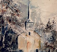 Old chapel Saint Roch Belgium 2 by calimero
