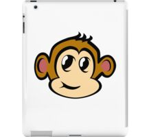 Monkey Cartoon iPad Case/Skin