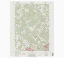 Maine USGS Historical Map Old Orchard Beach 102844 1956 24000 Kids Tee
