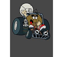 Murky and Lurky Cruise Round In Their Doom Buggy Photographic Print