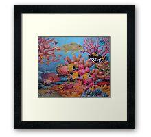 Sulawesi Reef Framed Print