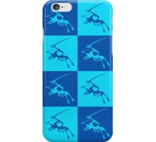 Dinos in Blue iPhone Case/Skin