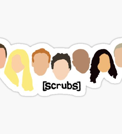 Scrub Heads Sticker
