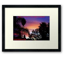 CALIFORNIA LIVING Framed Print