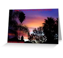 CALIFORNIA LIVING Greeting Card
