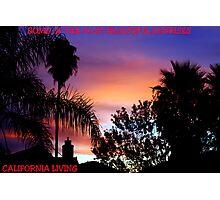 CALIFORNIA LIVING Photographic Print