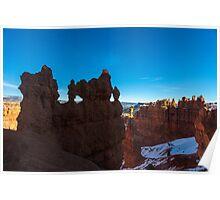 Bryce Canyon Hoodoos and Windows Poster