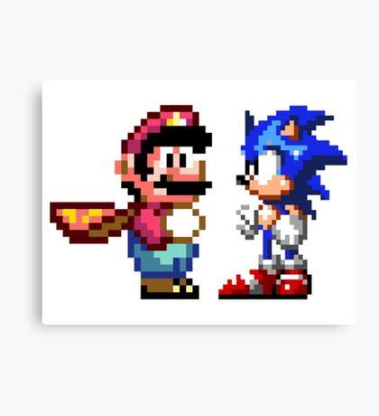 16-bit Rivals Canvas Print
