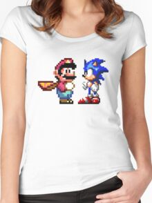 16-bit Rivals Women's Fitted Scoop T-Shirt