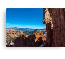 Down in The Canyon, Bryce Canyon Canvas Print