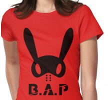B.A.P Bunny Logo Womens Fitted T-Shirt