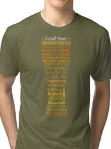 Craft Beer Tri-blend T-Shirt
