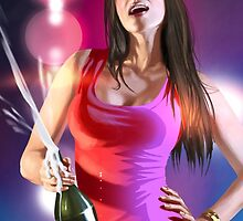 GTAV Club Girl Champagne by angelnava