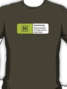 Homebrewing Classification T-Shirt