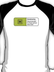 Homebrewing Classification T-Shirt
