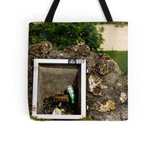 Floodlight fitting with empty can Tote Bag