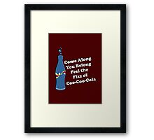 Feel the Fizz Of Coo Coo Cola Framed Print