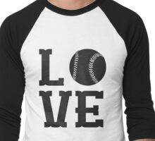 Baseball Love 2 Men's Baseball ¾ T-Shirt