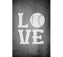 Baseball Love 2 Photographic Print