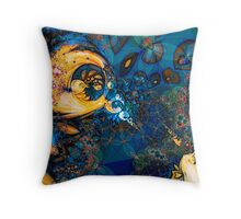 Web Spinners Throw Pillow