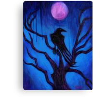 The Raven Nevermore Canvas Print