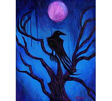 The Raven Nevermore Photographic Print