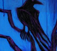 The Raven Nevermore Sticker