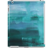 Through the Veil - Abstract Ocean Turquoise Blue iPad Case/Skin