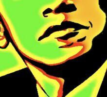 Obama rocks Sticker