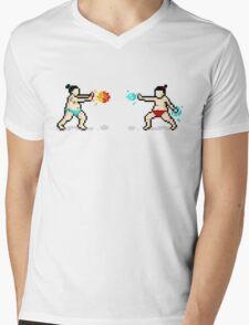 Sumo Fight! Mens V-Neck T-Shirt