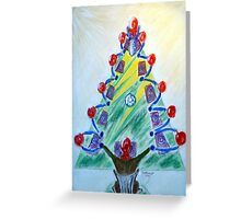 A Family Christmas Greeting Card
