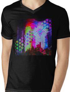Another Psychedelic Design Mens V-Neck T-Shirt
