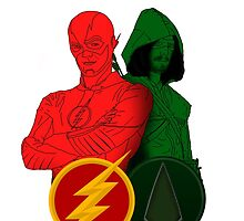 The Flash And The Arrow by ThePeacockMan