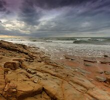 The Rock under a Stormy Sky by EvaMcDermott