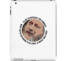 Stallman Icon Bubble iPad Case/Skin