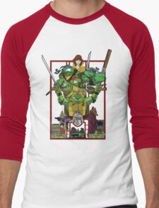 Enter the Turtles Men's Baseball ¾ T-Shirt
