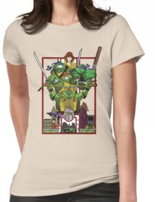 Enter the Turtles Womens Fitted T-Shirt