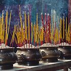 Temple incense  by Nadine Incoll