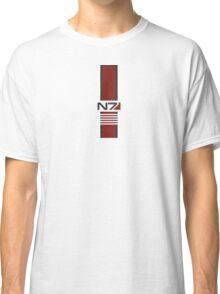 White N7 Stripe Classic T-Shirt