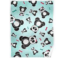 Panda Freefall Poster