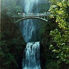Multnomah Falls, Oregon by DeaconBlues