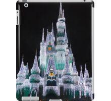 Cinderella's Castle Disney World 2014 Christmas Lights iPad Case/Skin