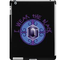 I wear the BLACK (Jewels) iPad Case/Skin