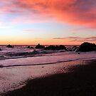 Sunset at Punakaiki by Magee
