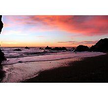 Sunset at Punakaiki Photographic Print