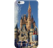 Cinderella's Castle Dream Along With Mickey iPhone Case/Skin