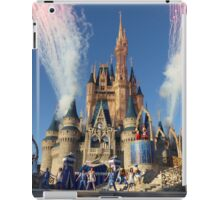 Cinderella's Castle Dream Along With Mickey iPad Case/Skin